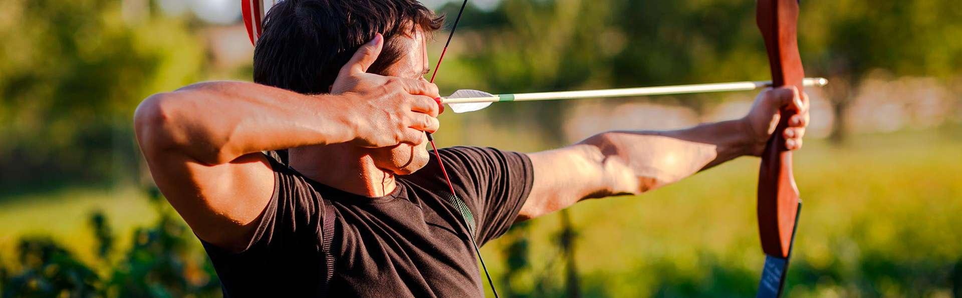 Escapada con clase de tiro con arco en entorno natural de Guadalajara