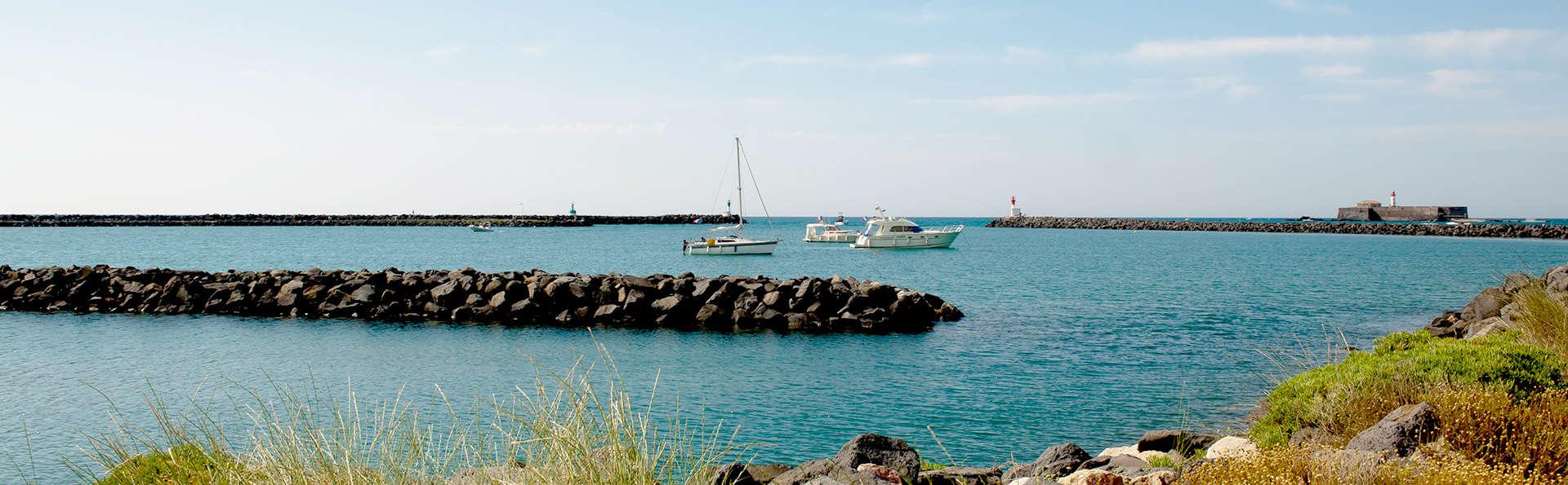 Prenez l'air en bord de mer et détendez-vous au Cap d'Adge