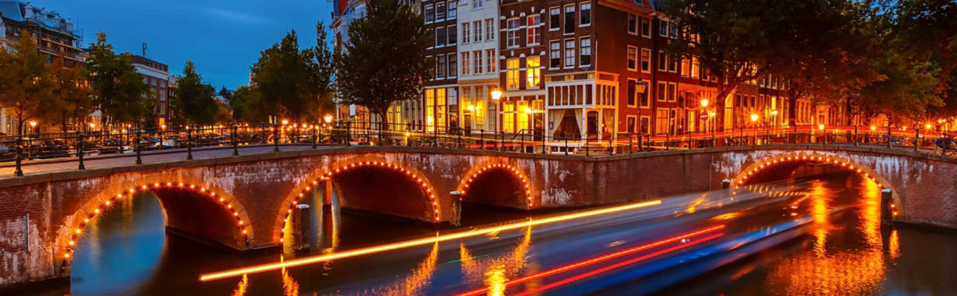 Découvrez la belle ville d'Amsterdam