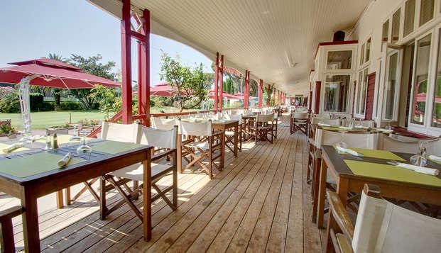 Najeti Golf Hotel de Valescure - Terrace