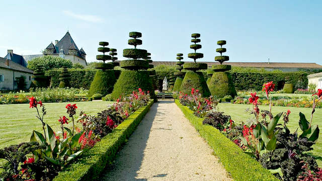 Escapade romantique et gastronomique, dans un luxueux château du Beaujolais