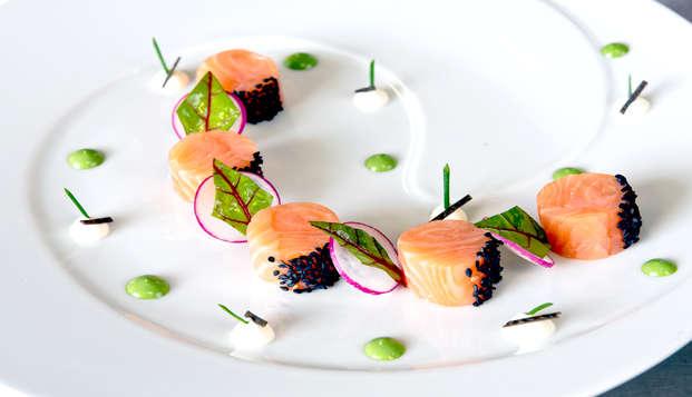 Vie de château et dîner gastronomique dans le Beaujolais