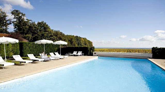 Relax e benessere in una spa in un castello a Beaujolais