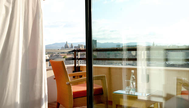 New Hotel Of Marseille - terras