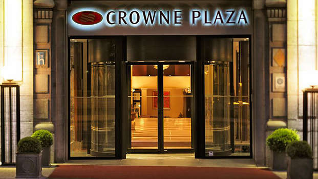 Crowne Plaza Brussels - Le Palace Bruxelles - Entry