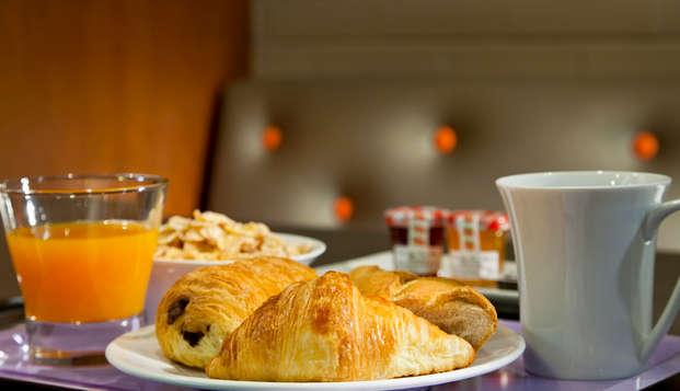 Timhotel Bd Berthier Paris XVII eme - -Petit dejeuner
