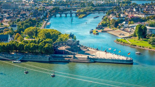 Rijke historie tussen twee rivieren in Koblenz (vanaf 2 nachten)