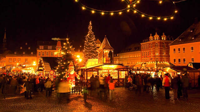 Atmosphère de Noël dans la charmante ville de Coblence