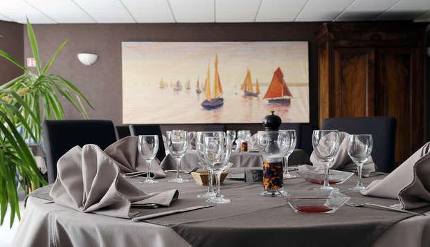 Escapade romantique avec dîner, champagne et accès Thalasso à Ars-en-Ré