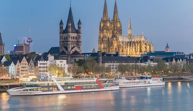 Viaja a la polifacética ciudad de Colonia (a partir de 2 noches)