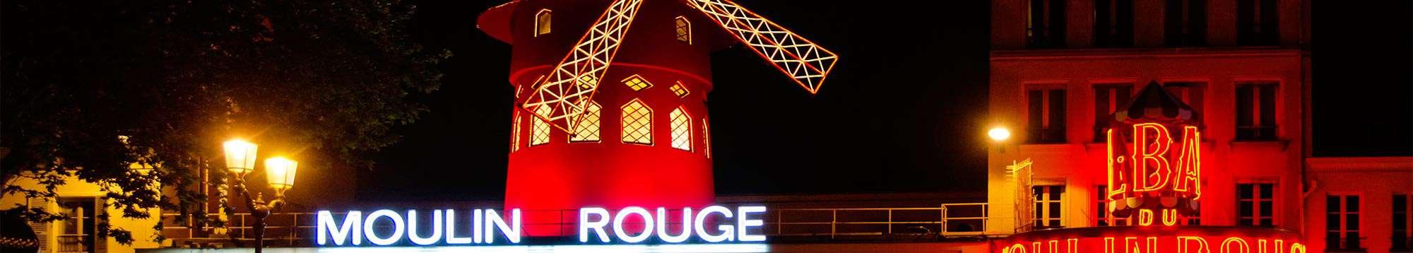 Week-end et séjour au Moulin Rouge