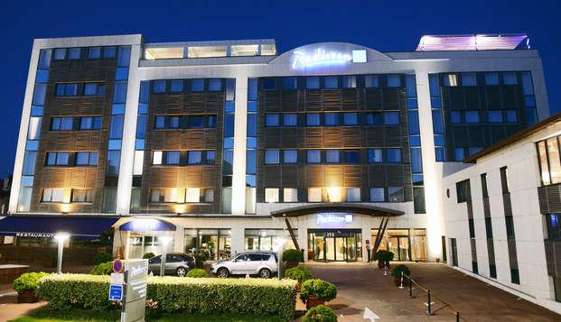 Radisson Blu Hotel Biarritz - facade
