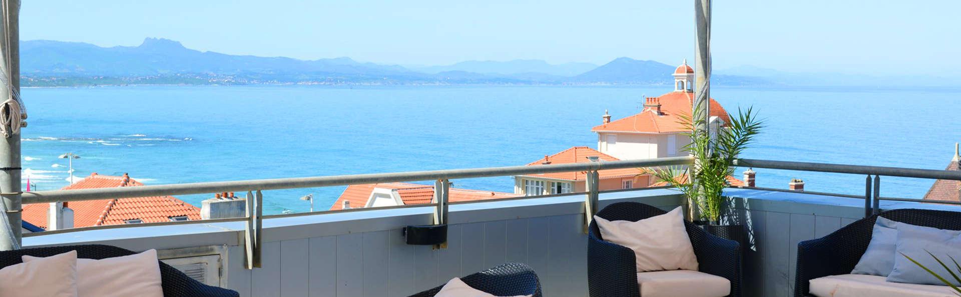 Week-end détente, en bord de mer, à Biarritz