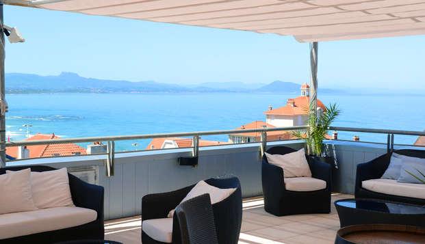 Radisson Blu Hotel Biarritz - terras