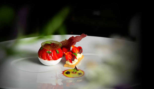 Hotel Thierry Drapeau - food