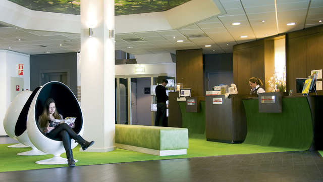 Best Western Plus Rotterdam Airport Hotel - recepcion