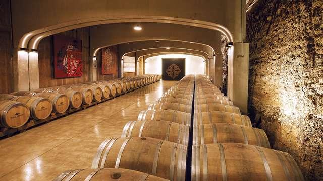 Visita de la bodega David Moreno La Rioja Alta