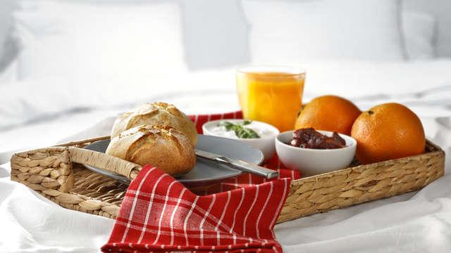 Desayuno en una cesta (día 1 y día 2)