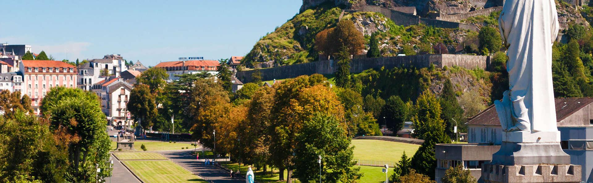 Escapade dans l'incontournable ville de Lourdes