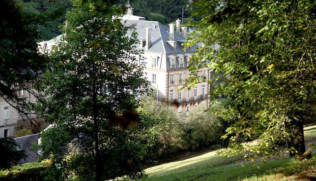 Séjour bien-être à Plombières les Bains avec entrées au spa Balnéo CALODAE