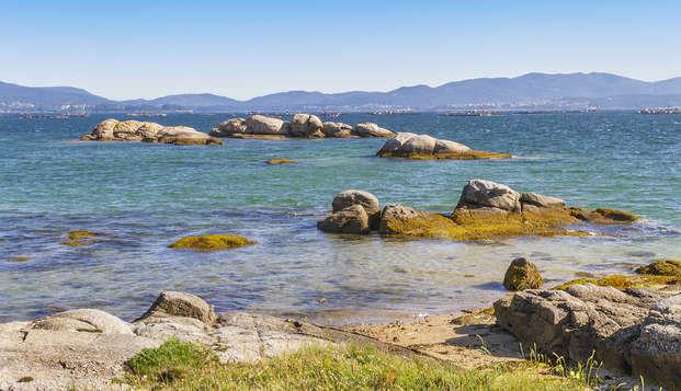 Vacaciones en Galicia en habitación con vistas al mar