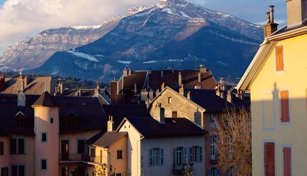 Découverte de la Savoie, dans un hôtel design en plein centre de Chambéry