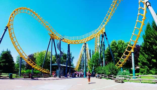 Scoprite il parco divertimenti Walibi vicinissimo a Lione