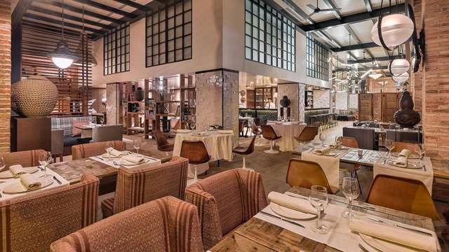 Lujo & Gastronomía en pleno centro de Madrid con cena degustación incluida