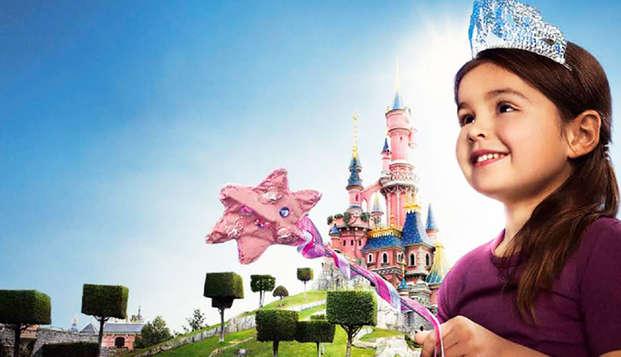 Escapada relax con acceso a los 2 parques Disney® (-25% en la segunda noche)