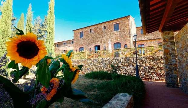 Séjour près de la côte toscane et dégustation de vins (à partir de 3 nuits)