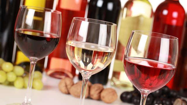 1 Dégustation de vins pour 2 adultes