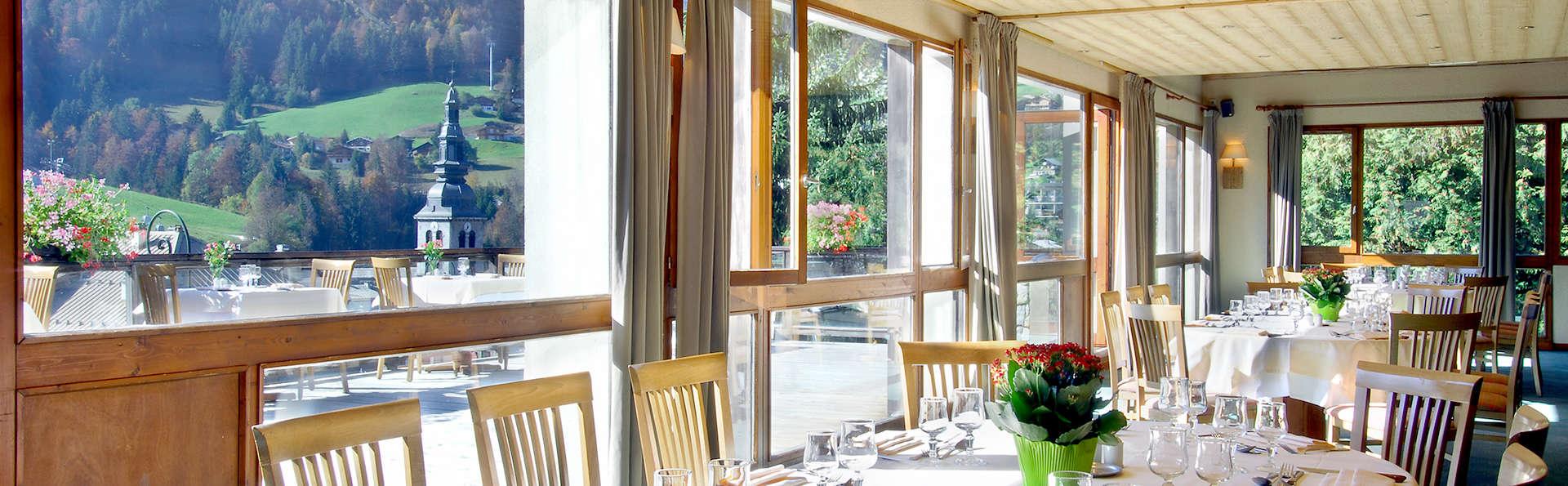 Offre tout inclus: Week-end détente avec dîner à la Clusaz