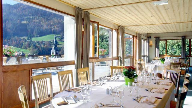 All-inclusive aanbieding: weekend ontspannen met diner, hapje en drankje in la Clusaz