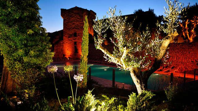 Escapada romántica con champán en Aix-en-Provence