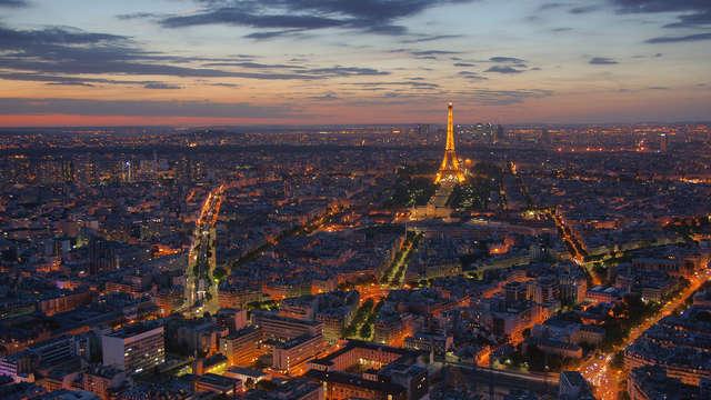 Pullman Paris Centre Bercy - paris Coucher de soleil