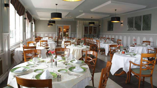 Weekend met diner nabij Parijs