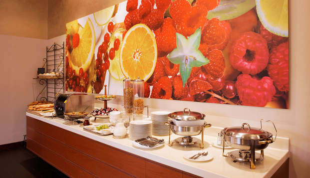 Hotel Lyon Metropole Spa - breakfast buffet