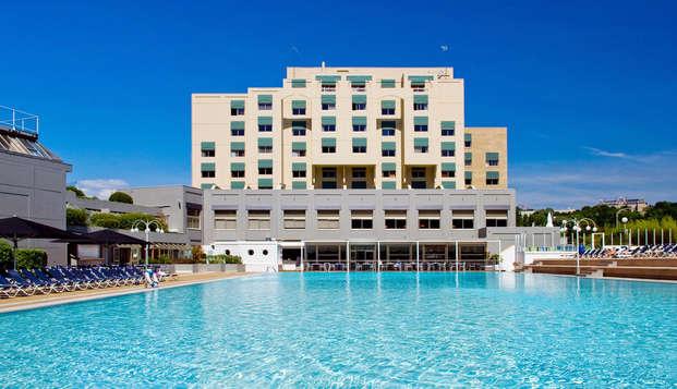 Hotel Lyon Metropole Spa - front