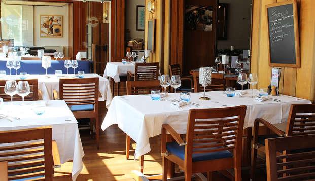 Week-end avec dîner et accès au SPA, au bord de la Saône à Lyon