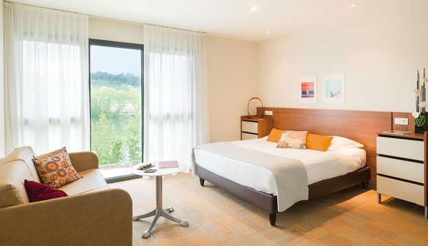 Hotel Lyon Metropole Spa - room