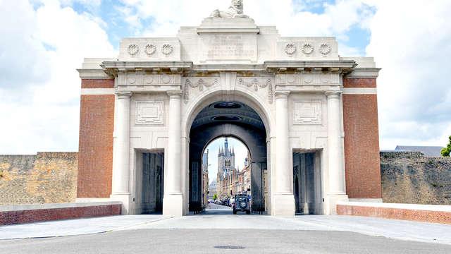 Charme et cava dans l'historique ville d'Ypres
