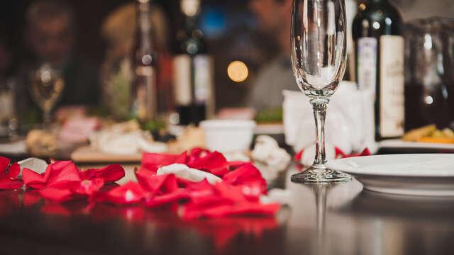 Romance et luxe au champagne et avec Lovebox dans un hôtel d'exception au coeur de Versailles