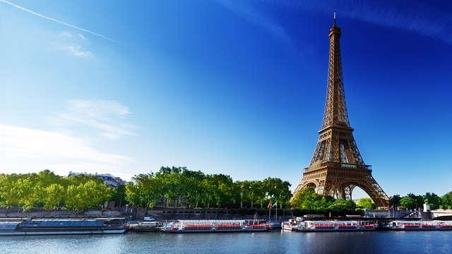 Escapade détente et ballade sur la Seine pour découvrir Paris ! (à partir de 2 nuits)