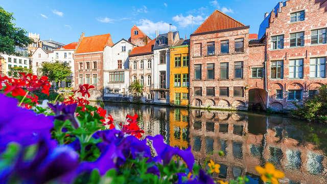 Verblijf in een heerlijke studio tijdens een citytrip in Gent