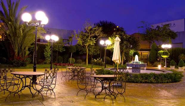 Sercotel Hotel Ciscar - terras
