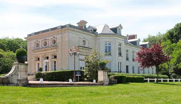 Welzijnsuitje in het weelderige Château de Maffliers