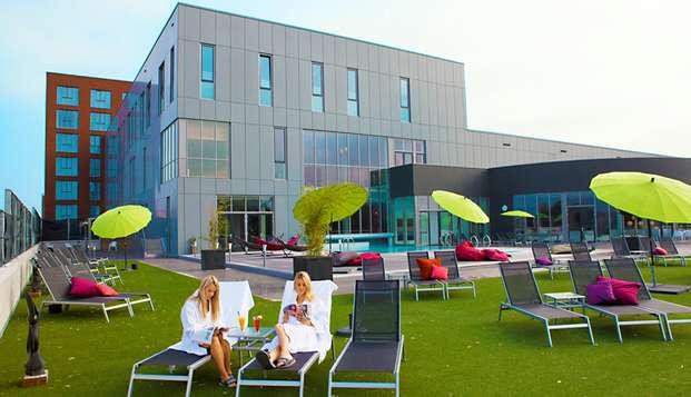 City Resort Hotel Helmond - terras