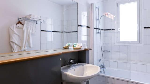 Hotel Axotel Perrache - Hotel Axotel Lyon Perrache Salle de Bain