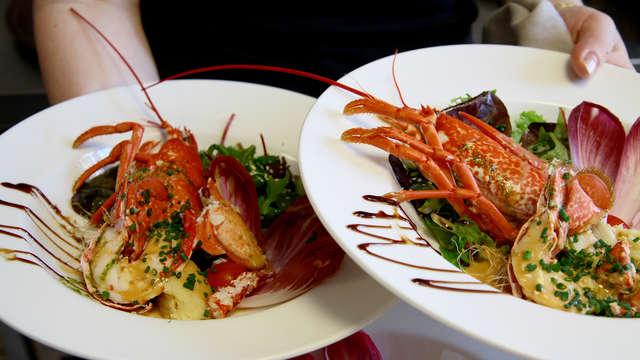 La Cremaillere Cote Mer et Hotel Cote Jardin - lunch