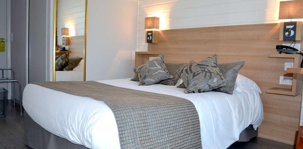 La cr maill re c t mer et h tel c t jardin 3 courseulles sur mer frankrijk - La cremaillere cote mer et hotel cote jardin ...